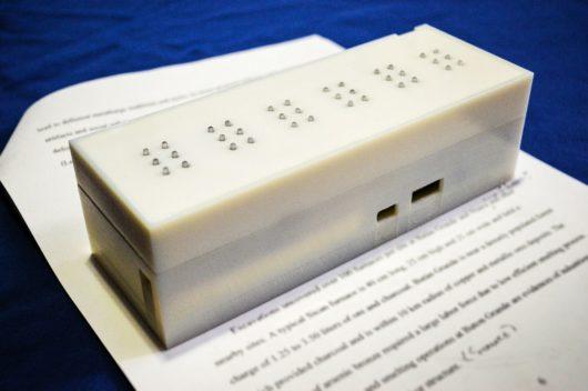 tactile braille scanner