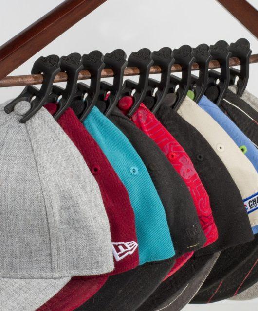 Caiman clip rangement casquettes